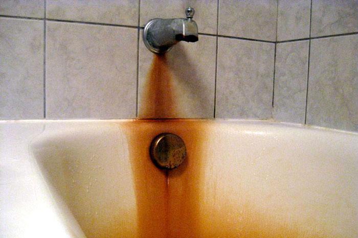 حذف آهن آب