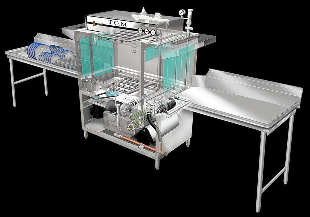 تولید کننده ماشین ظرفشویی صنعتی