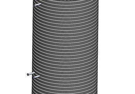 طراحی و ساخت مخزن همزن به سفارش پژوهشگاه صنعت نفت