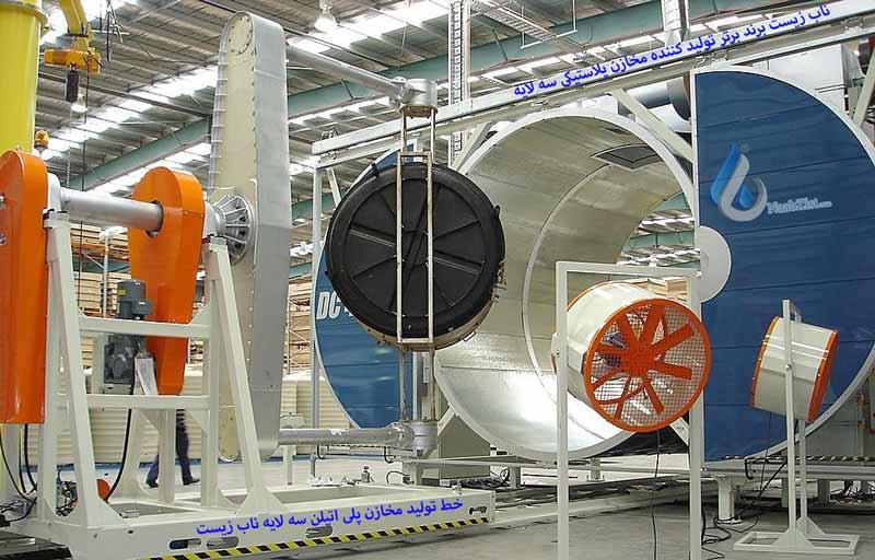 نحوه تولید مخازن پلی اتیلن پلاستیکی